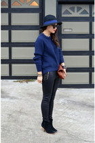 31 Phillip Lim x Target sweater - asos boots - Forever 21 hat - Clare Vivier bag