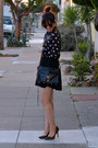 Polka-dot-h-m-shirt-mac-rebecca-minkoff-bag-karen-walker-sunglasses
