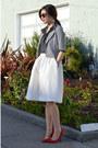 Stripe-lucca-couture-kids-jacket-polka-dot-popbasic-shirt-h-m-skirt