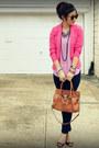 Paige-jeans-h-m-blazer-michael-kors-bag-enzo-angiolini-heels-h-m-top