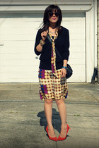 dress as skirt Marni for H&M dress - H&M sweater - Mulberry for Target bag