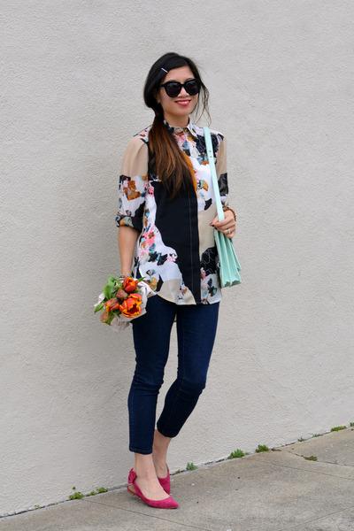 31 Phillip Lim x Target shirt - Forever 21 jeans - loeffler randall bag