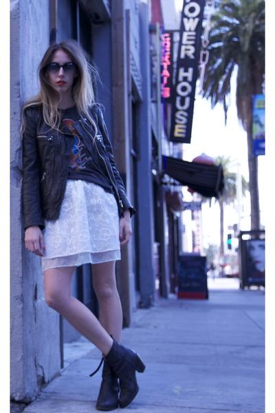 pistol acne boots - black kady Isabel Marant jacket