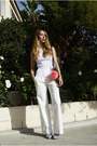 Leila-mock-neck-pari-desai-top-vintage-missoni-pants-chanel-sandals