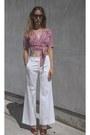 Celine-sunglasses-bow-maison-martin-margiela-heels-missoni-vintage-pants