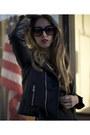 Acne-dress-motorcycle-unif-jacket-studded-chloe-bag