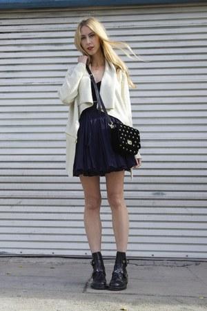balenciaga boots - sparkle Kenneth Cole sweater - star studded Sonia Rykiel bag