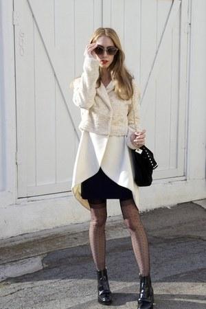 Opening Ceremony X Rodarte coat - dana bio Stella McCartney boots