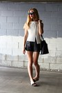 Bucket-mansur-gavriel-bag-maia-acne-shorts-roman-newbark-sandals