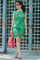OASAP dress - Zac Posen bag - dior sunglasses - OASAP necklace