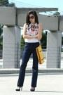 Gold-tory-burch-bag-black-chanel-sunglasses-navy-lamb-heels-navy-inc-pants