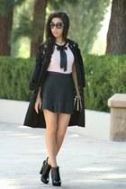 black Michael Kors boots - black ZAC Zac Posen bag - black Chanel sunglasses