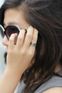 Black-louis-vuitton-bag-heather-gray-zara-dress-black-chanel-sunglasses