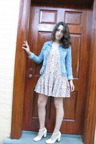 Target dress - jacket - Chloe shoes