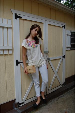 H&M t-shirt - Levis jeans