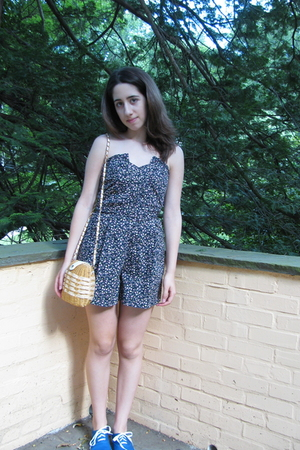 Topshop dress - purse - Urban Outfitters shoes
