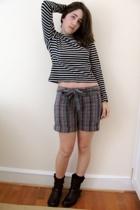 vintage shirt - shorts