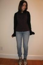 doc martens shoes - H&M jeans