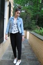 Topshop top - American Apparel pants - shoes