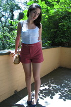 Marc by Marc Jacobs shorts - top - purse - shoes