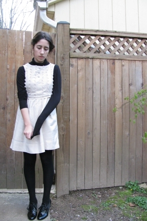 H&M dress - H&M top - H&M boots