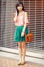 Vintage-bag-shopsosie-blouse-urban-outfitters-skirt-steve-madden-flats