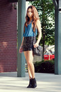 Forever-21-boots-marc-by-marc-jacobs-bag-studded-trinity-place-shorts