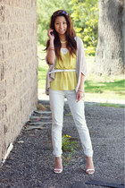 Urban Outfitters cardigan - Forever 21 pants - tohello beautiful necklace