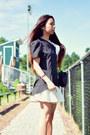 Black-lovelywholesale-top-ivory-persunmall-skirt-black-anne-michelle-heels