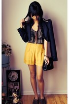 Forever 21 blazer - Urban Outfitters shorts