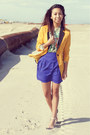 Mustard-mustard-mart-of-china-blazer-blue-chiffon-vintage-havana-skirt