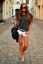 camaieu boots - H&M shirt