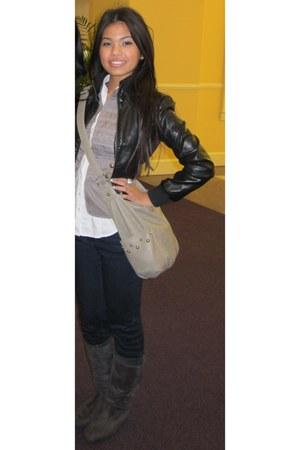 leather jacket Neimean jacket