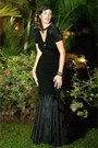 Black-fish-tail-agata-zabek-fashion-dress