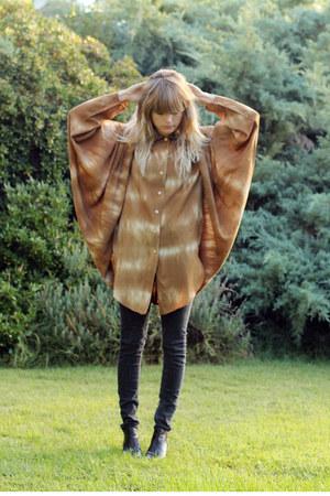 vintage shirt - Rachel Comey boots