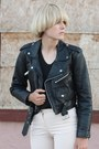 Moto-jacket-vintage-jacket-booties-vintagw-boots-alexander-wang-t-shirt