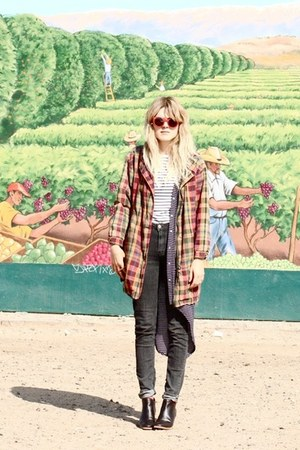 vintage jacket - Rachel Comey boots
