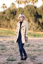 vintage jacket - Rachel Comey boots - Cheap Monday jeans - stripe vintage shirt