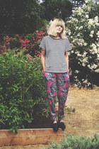 vintage pants - vintage t-shirt