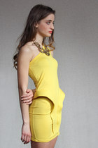 yellow dress Zoe Phobic dress
