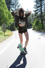 Brandy-melville-jacket-unif-shorts-urban-outfitters-top