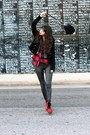 Red-jeffrey-campbell-shoes-black-tigerlily-jacket-charcoal-gray-helmut-lang-