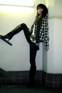 Black-ivy-blazer-white-h-m-shirt-blue-j-brand-jeans-black-vntage-boots-s