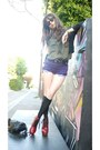 Red-jeffrey-campbell-boots-black-h-m-sweater-purple-urban-outfitters-shorts-