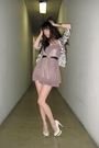 Black-h-m-cardigan-beige-from-thailand-dress-white-topshop-shoes