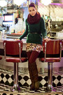 Green-mohair-h-m-sweater-crimson-oasis-tights-white-floral-print-zara-skirt
