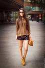 Gold-gold-zara-sweater-bronze-brown-paper-zara-bag