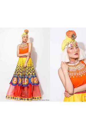 yellow Param Sahib skirt