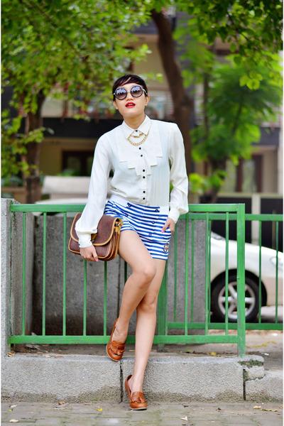 vintage aj store bag - vintage tassel aj store shoes - aj store shirt