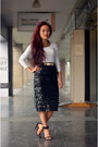 Aj-exclusive-skirt-zync-top-black-zara-heels-gold-zara-belt